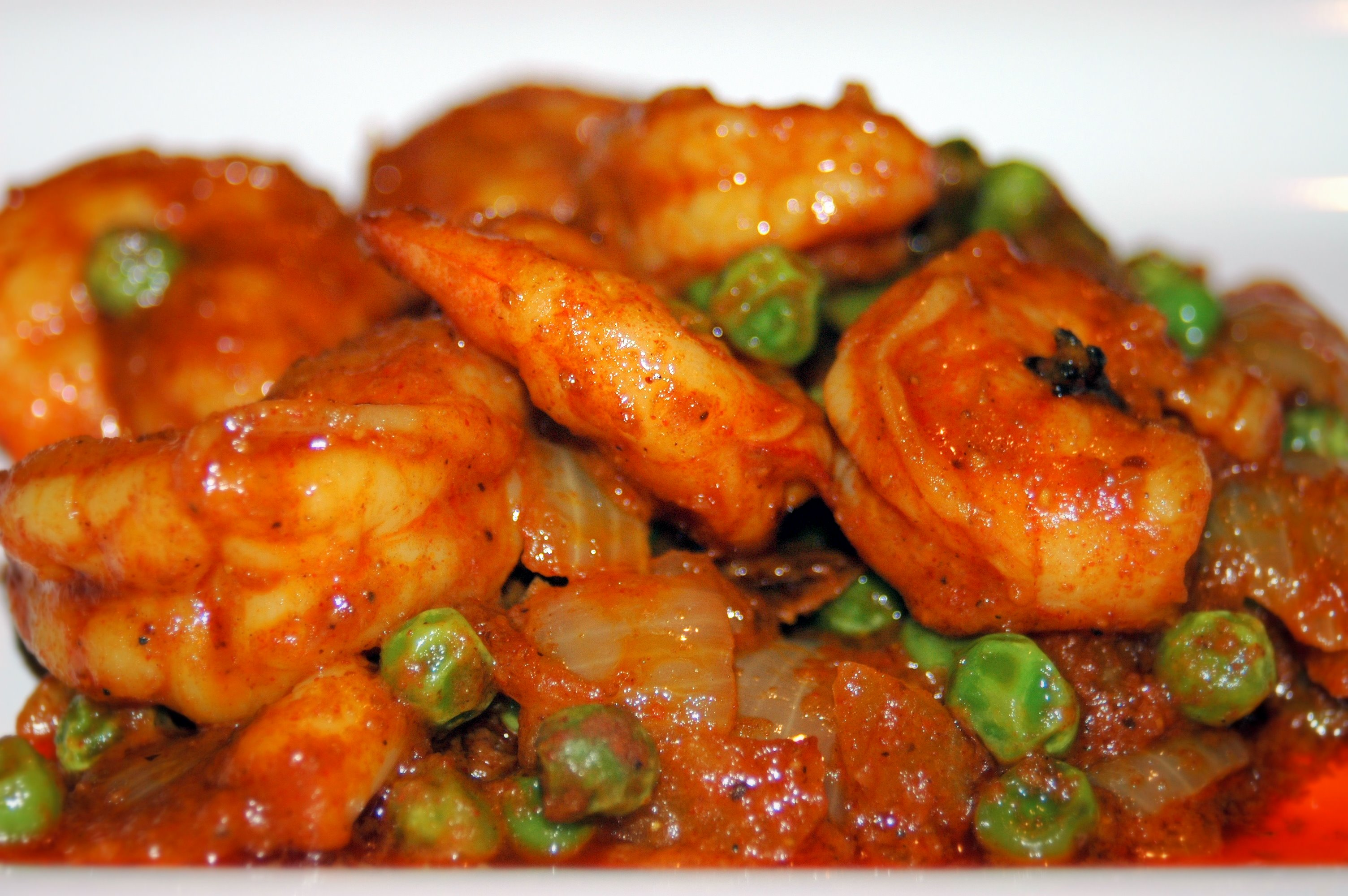 Large shrimp is called Jhinga in Marathi. Shrimp curry is a favorite ...