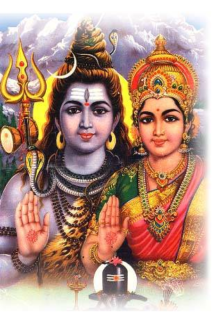 Parvati and Shiva